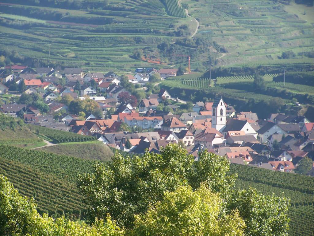 Vogtsburg-Oberbergen im Kaiserstuhl