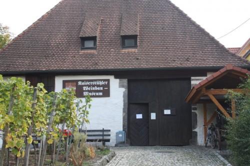 Das Wienbaumuseum am Kaiserstuhl