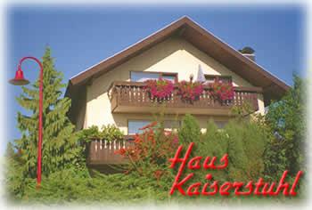 Haus Kaiserstuhl im Winzerdorf Ihringen