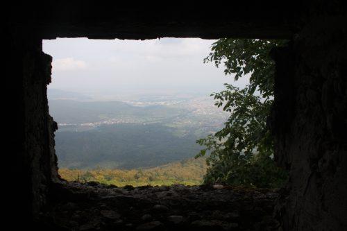 Aussichtsfenster Bunker