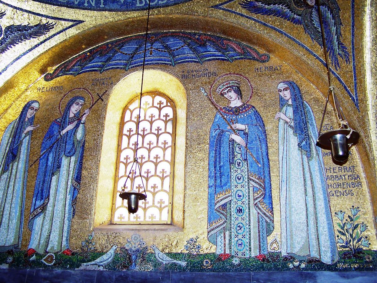 Mosaik St Odilien