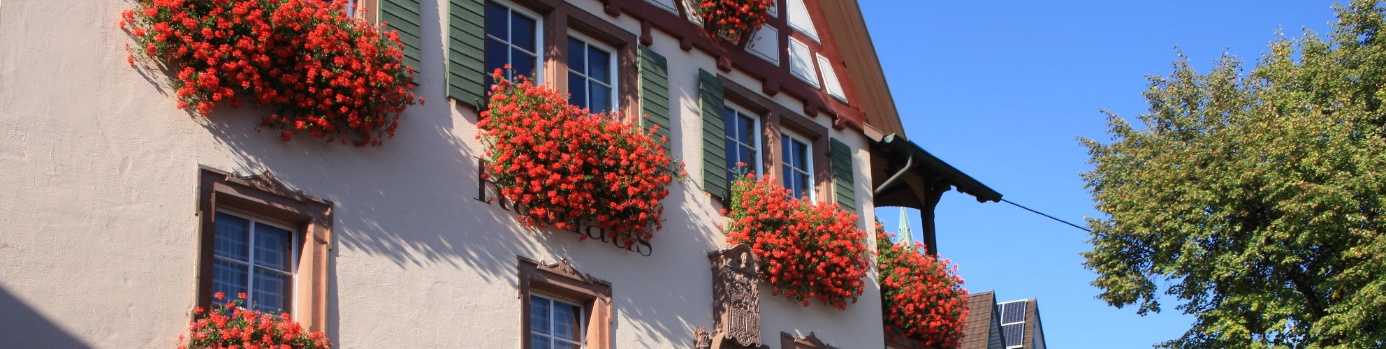 Rathaus von Bahlingen am Kaiserstuhl