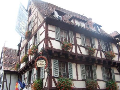 Gasthaus in Colmar