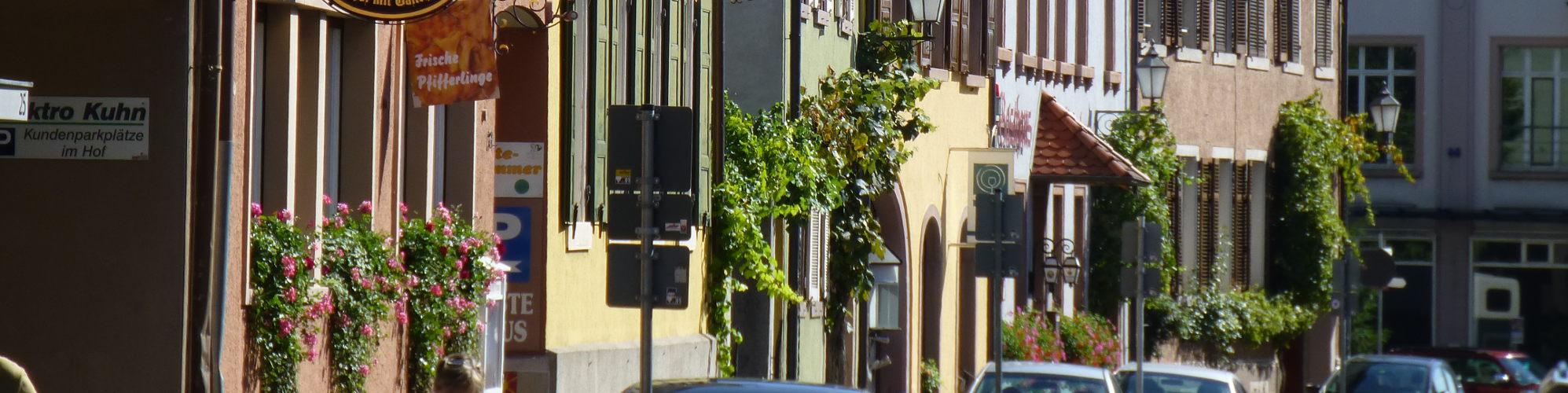 Häuser in Ihringen