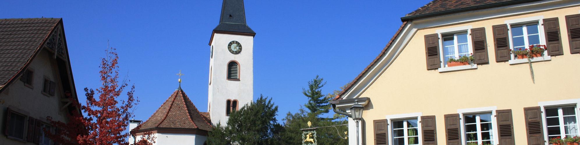 Ortsmitt Oberrimsingen