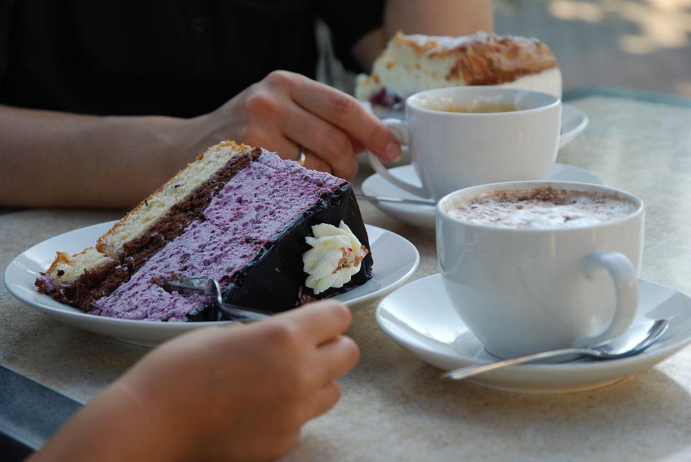 Kirschencafe in Koenigschaffhausen