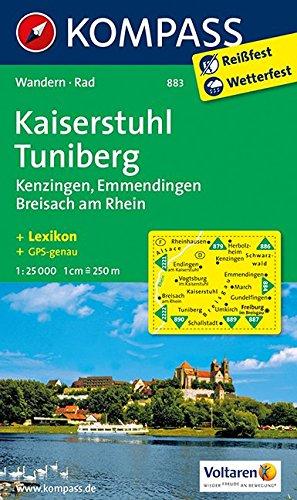 Kompass Karte Kaiserstuhl