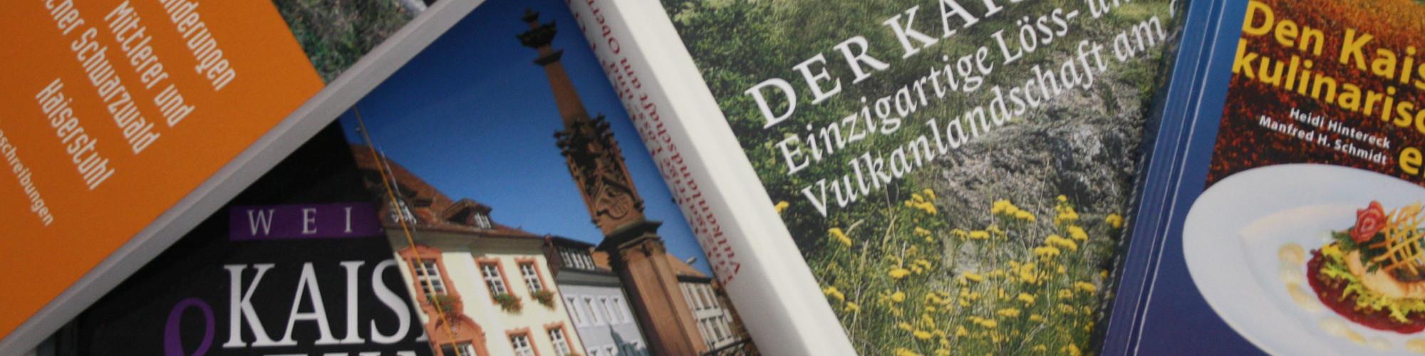 Bücher über den Kaiserstuhl