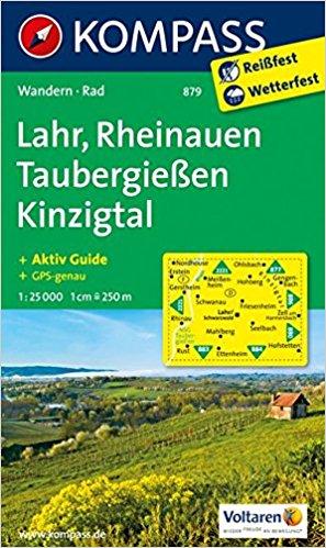 Kompass Karte Taubergiessen