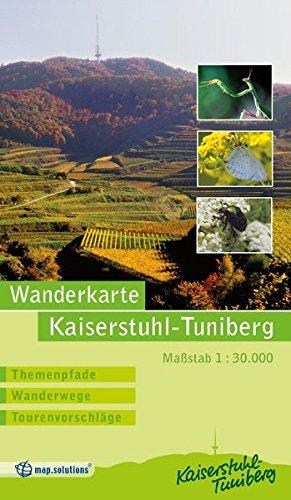 Wanderkarte Kaiserstuhl Tuniberg