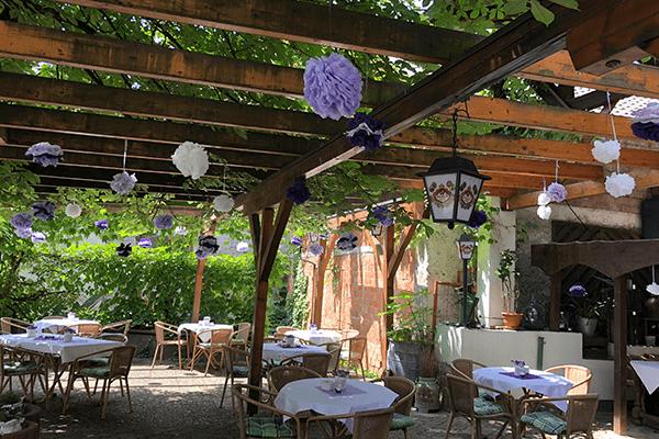Biergarten Gasthaus Hecht Bahlingen