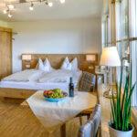Schlafzimmer auf dem Ferienhof Walter in Opfingen